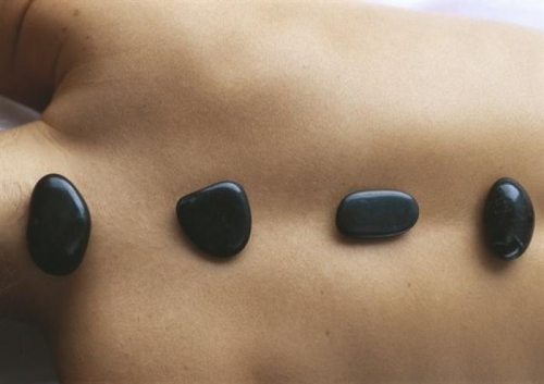 Die Hot Stones Massage Steine
