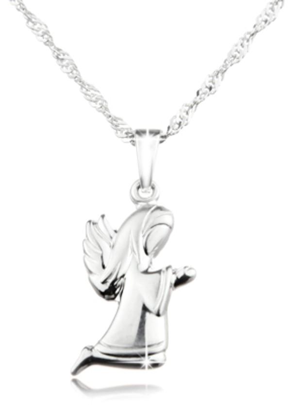 Das wunderschöne Schmuckset knieender Engel - und Kette! Echt Silber ... 8edc301f51