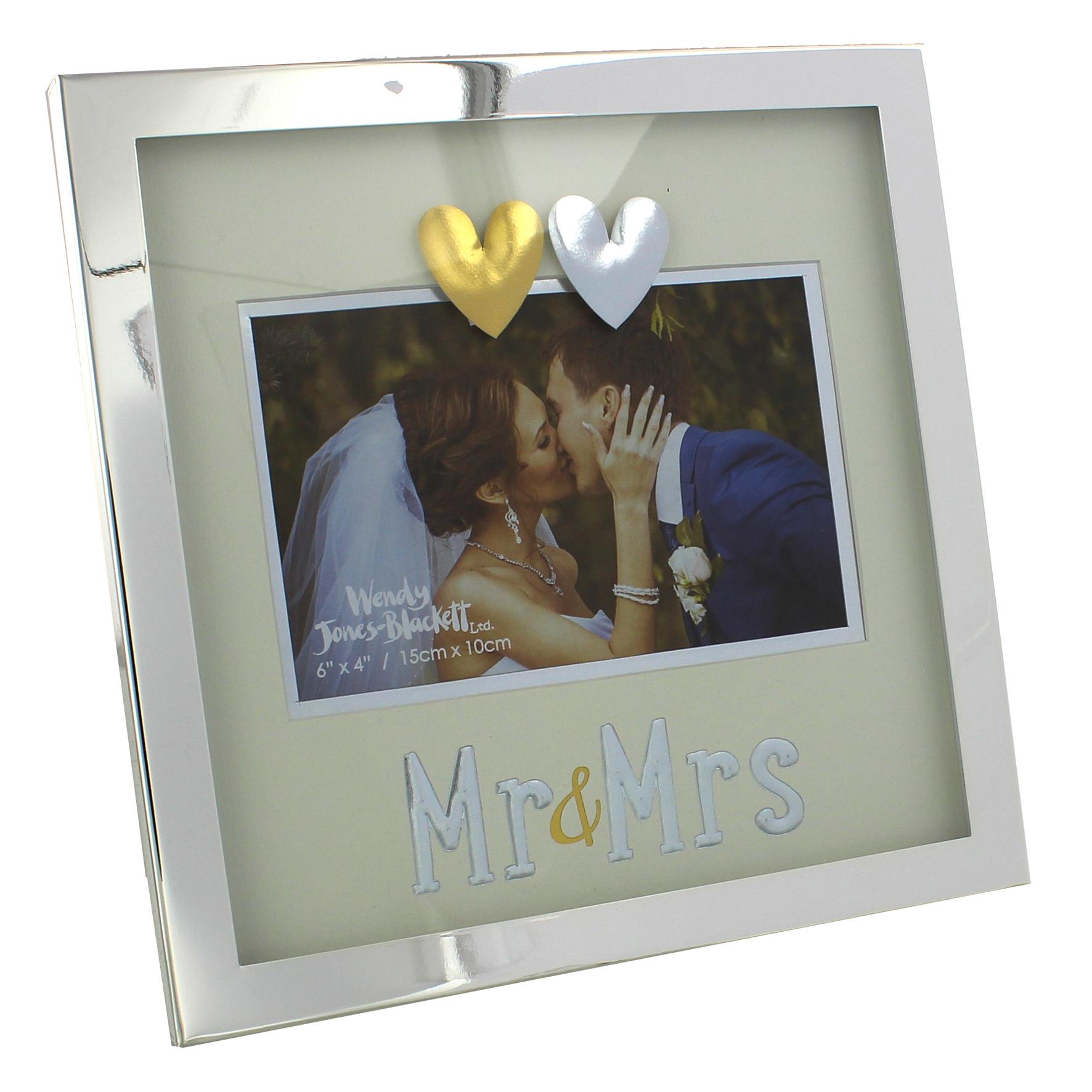 Mr & Mrs der edle Bilderrahmen für die schönsten Momente