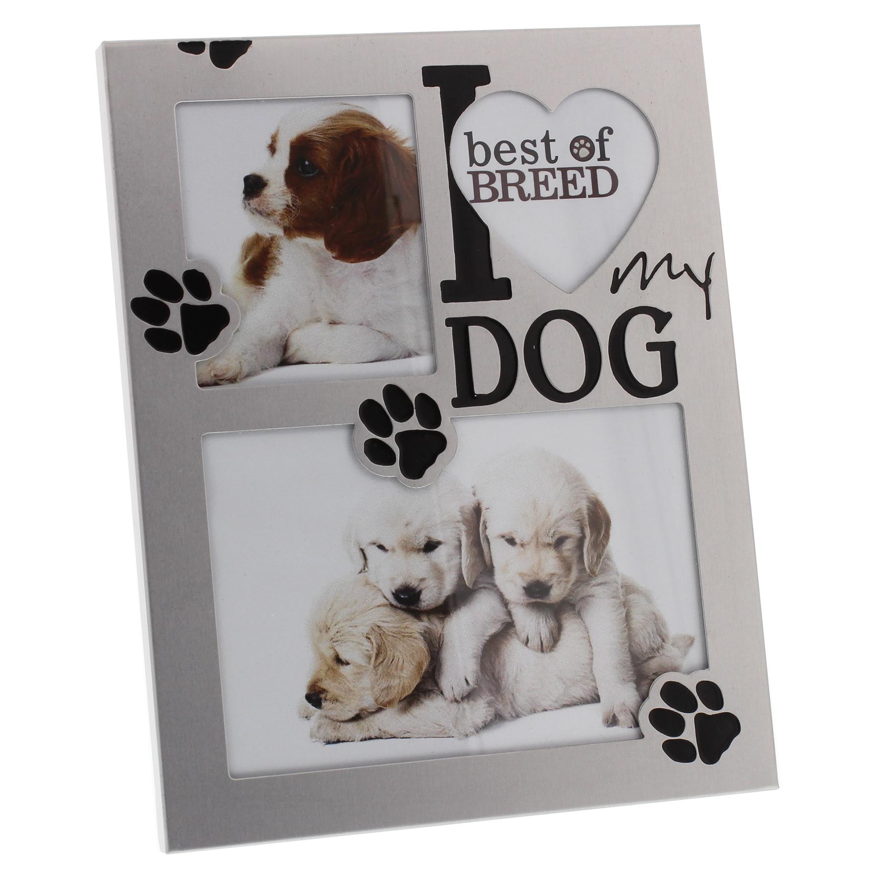 I love my Dog - Fotorahmen für Hundeliebhaber