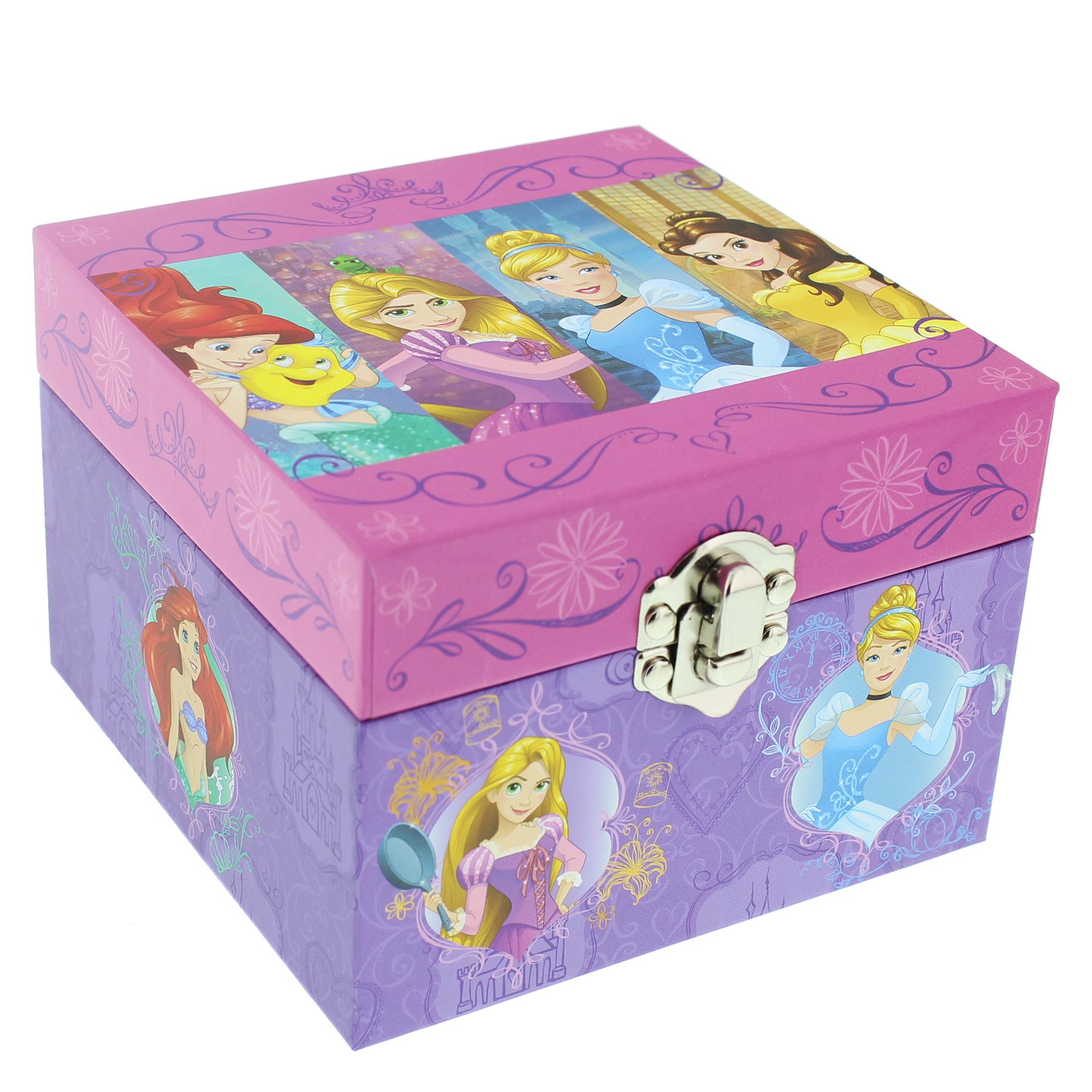 Disney Princess - Schmuckdose Prinzessin mit Spieluhr