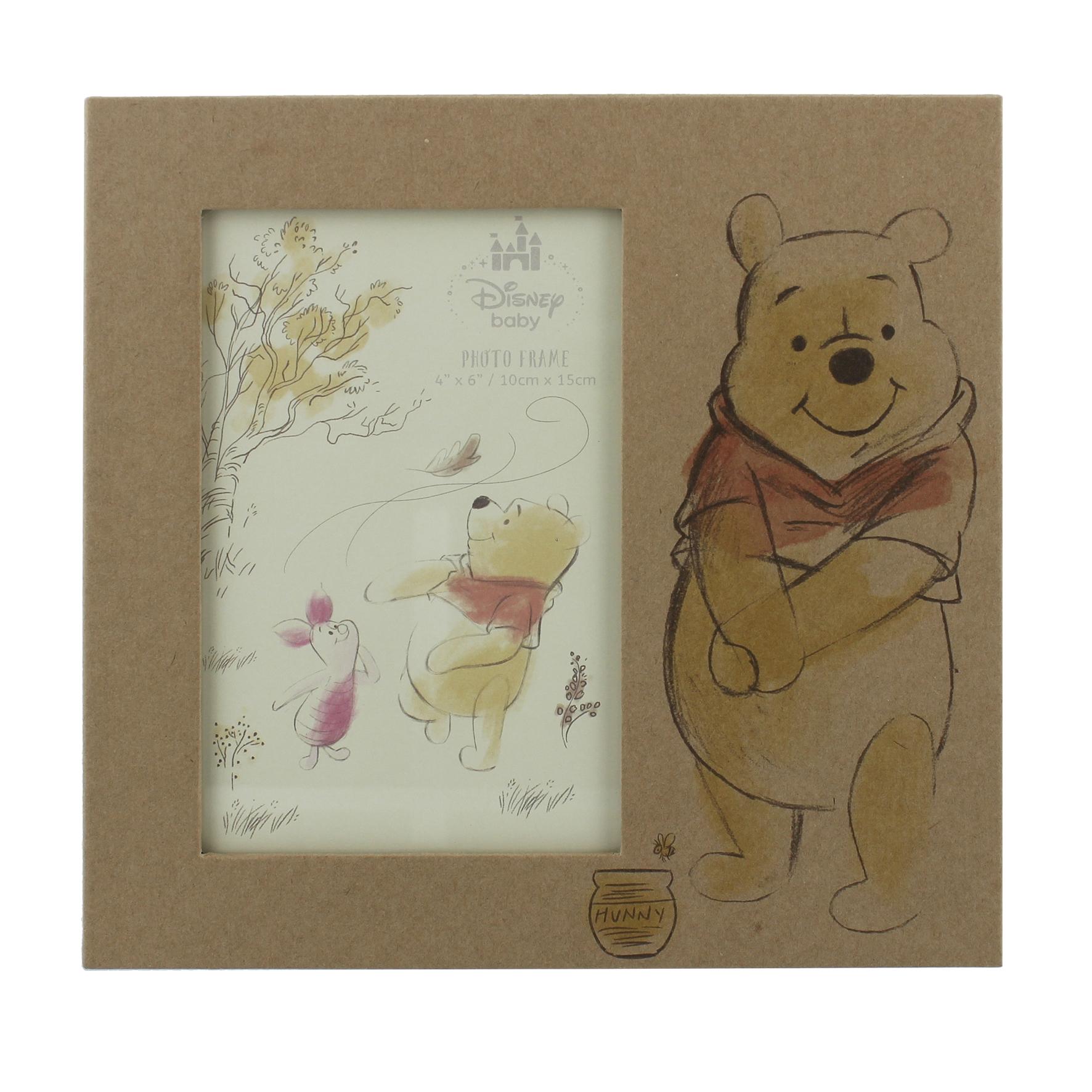 Winnie Pooh Bild auf Holz Film- & TV-Spielzeug
