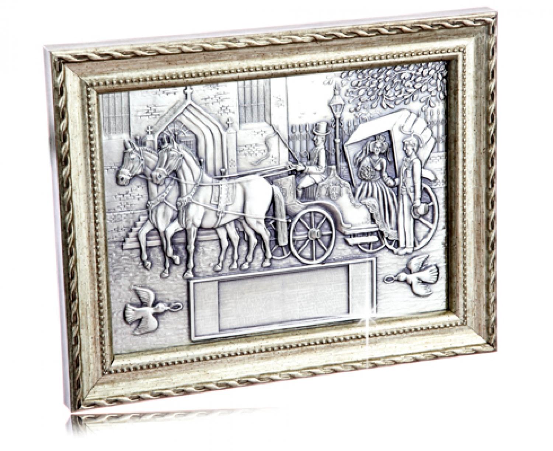 hochzeitsgeschenk zinnrelief zur trauung mit gravur. Black Bedroom Furniture Sets. Home Design Ideas