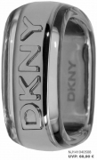 Der extravagangte DKNY-Ring Silber